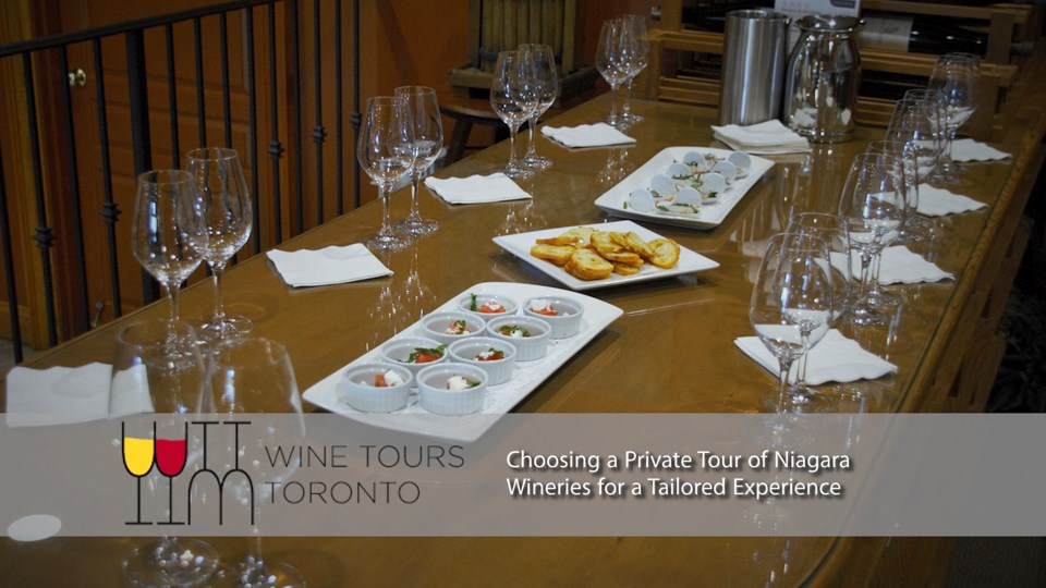 Choosing a Private Tour of Niagara Wineries for a Tailored Experience privatetourofniagarawineries